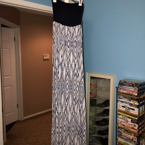Long maxi dress, perfect for summer!